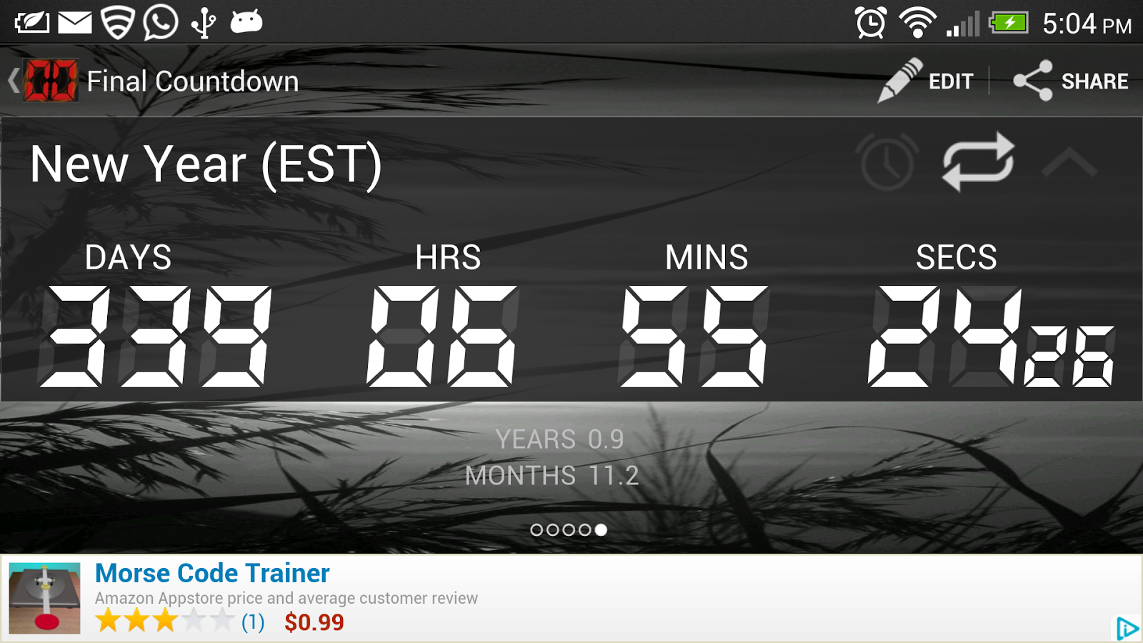 Final Countdown - Timer - screenshot