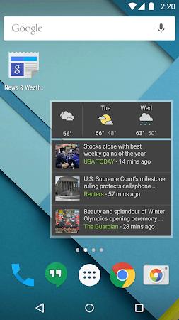 Google News & Weather 2.3 screenshot 2417