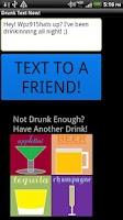 Screenshot of Drunk Text Now