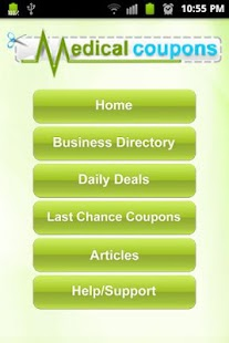 Medical Coupons- screenshot thumbnail