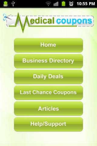 Medical Coupons- screenshot