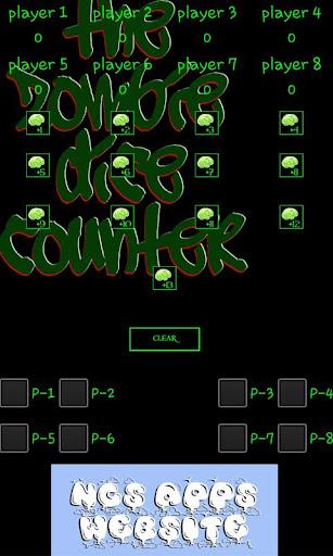 The Zombie Dice Brain Counter