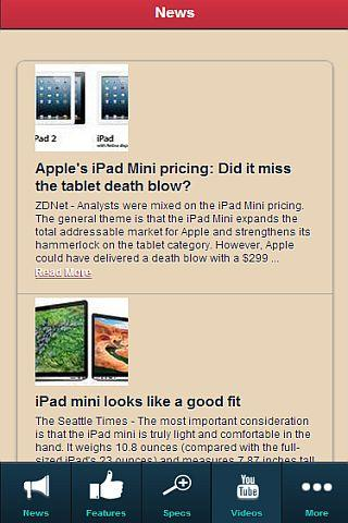 iPad Mini REVIEW - screenshot