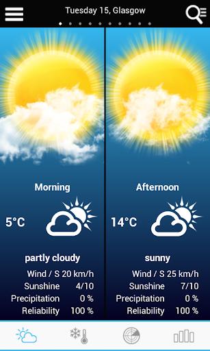 UK Weather forecast  screenshots 1