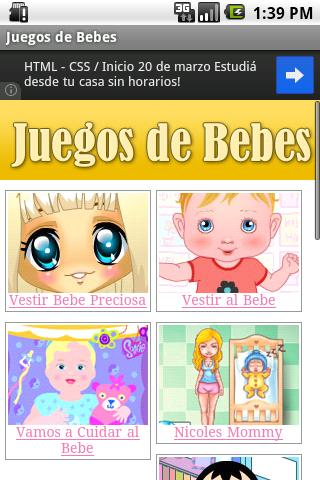 Juegos de Bebes