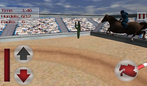 Jumping Horse Jockey