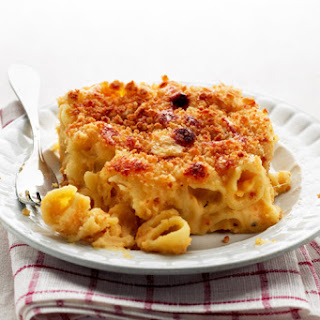 Four-Cheese Macaroni and Cheese.