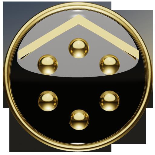 Smart Launcher GSLTHEME  ゴールド 個人化 App LOGO-硬是要APP