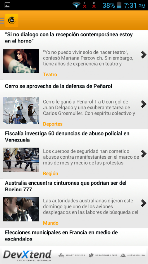 180.com.uy - screenshot
