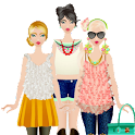 Lady Princess Dress Up Styling icon