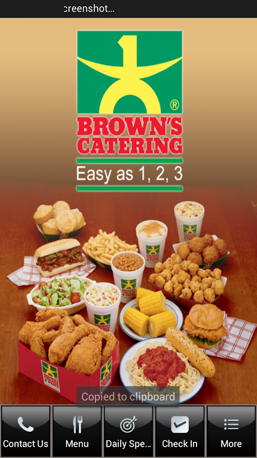 Brown's Chicken - screenshot