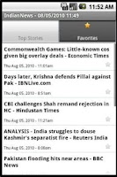 Screenshot of IndianNews