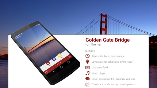 Golden Gate Bridge Theme