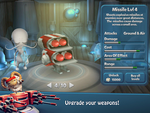 Tower Madness 2: 3D Defense 2.1.1 screenshots 7