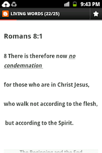 Daily Bible screenshot 2