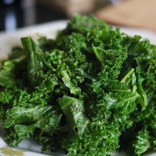 Simple Kale Avocado Salad.