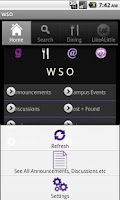 Screenshot of WSA