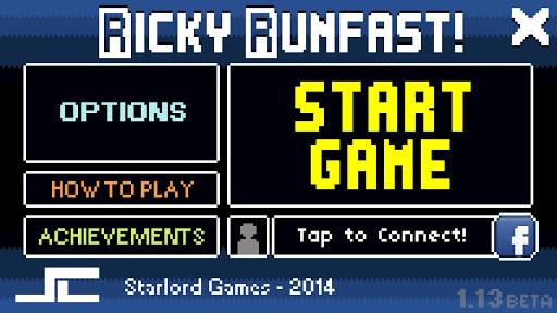 【免費街機App】Ricky Runfast! - Free-APP點子