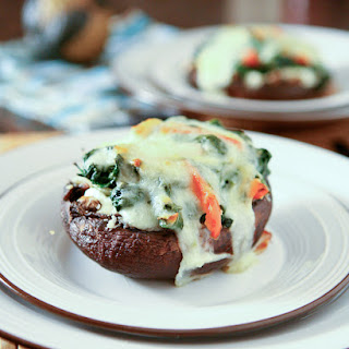 Spinach and Ricotta Stuffed Portobello Mushrooms Recipe
