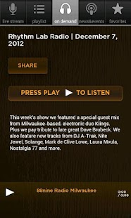 88Nine RadioMilwaukee - screenshot thumbnail