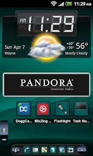 TSF Shell Theme Cyan HD - screenshot thumbnail