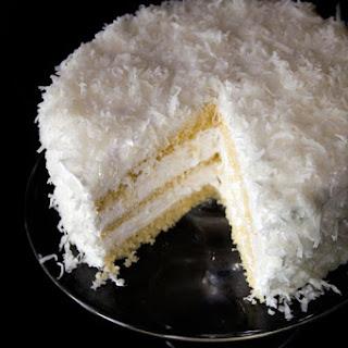 Thomas Keller's Coconut Cake.