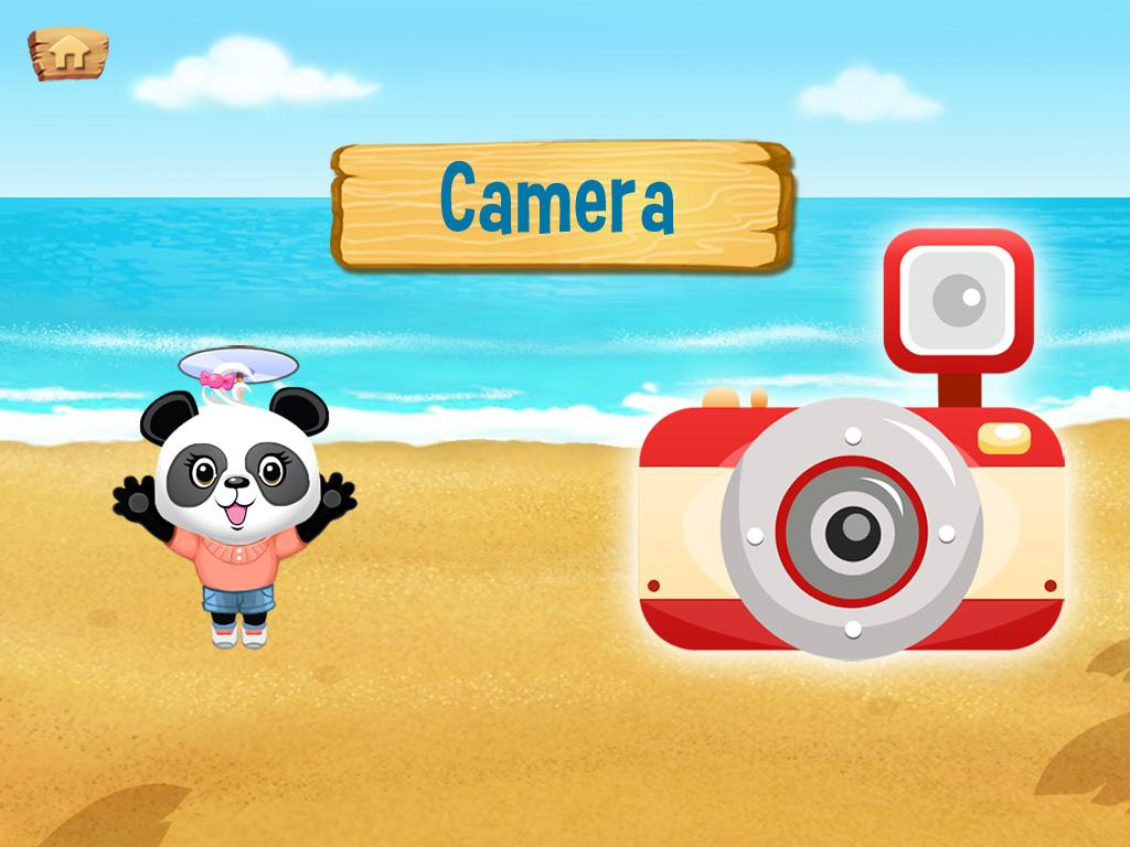 Lola's Beach Puzzle Lite - screenshot