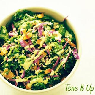 Confetti Kale Salad w/ Dijon Dressing