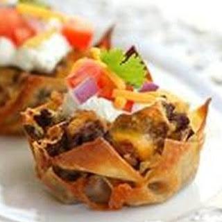 Taco Cupcakes.