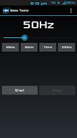 Screenshot of Bass Tester