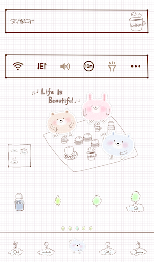 Wonderful life dodol theme