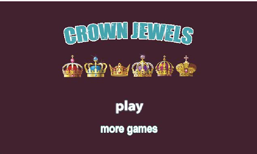 Magic Christmas crown jewels