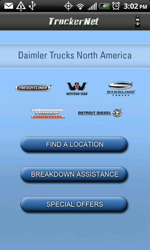TruckerNet - screenshot