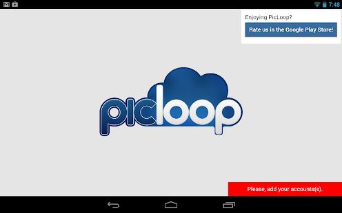 PhotoFrame for Flickr Dropbox