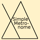 Simple Metronome by Ethan Brown icon
