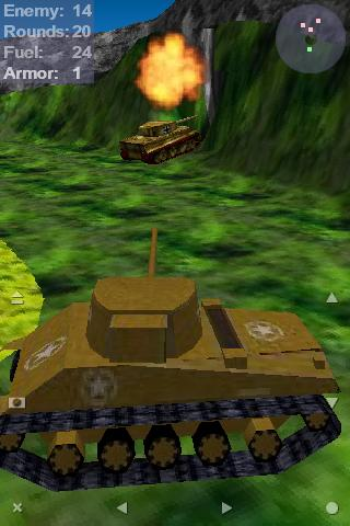 Tank Ace 1944 Lite- screenshot