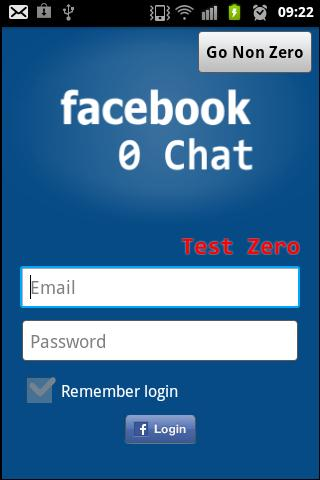 Facebook 0 Chat - screenshot