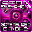 Pink DX/DX2 GO SMS Theme icon