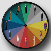 Doctor Who Widget Clock