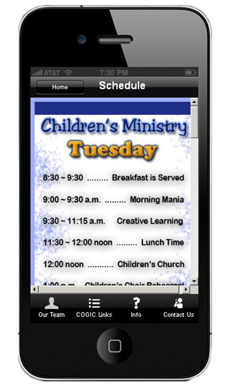 AIM Children - screenshot