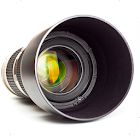 Photo camera zoom power icon
