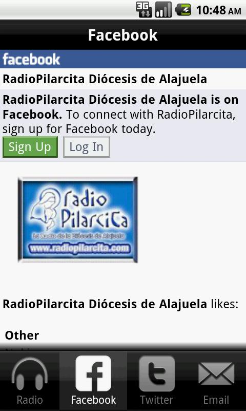Radio Pilarcita - screenshot