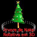 Árvores de Natal Rotativas 3D icon