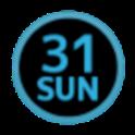 DayWeekBar English Blue icon