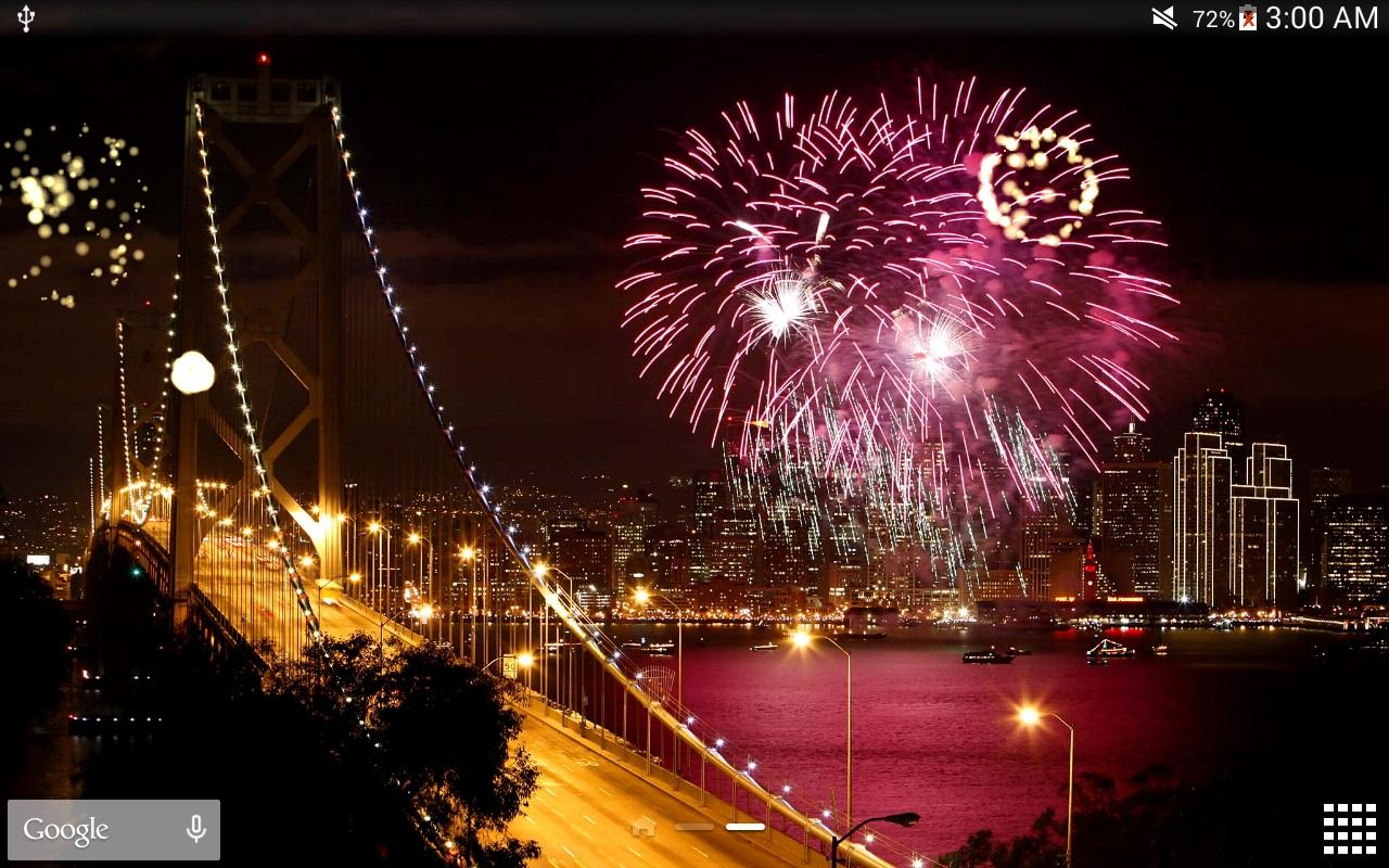New Year Fireworks Lwp Pro Android Apps On Google Play