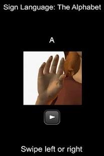 Sign Language Alphabet - screenshot thumbnail
