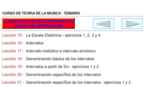 CURSO DE TEORIA DE LA MUSICA 1.0.19 screenshots 9