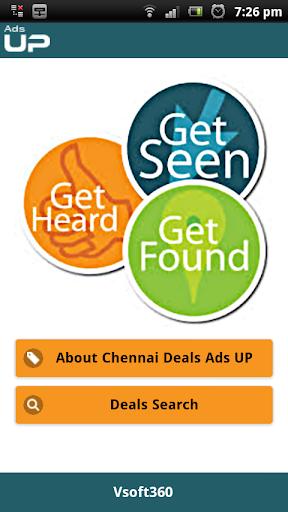 Chennai Deals Adsup