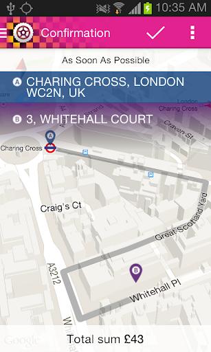 【免費交通運輸App】London Taxi & Minicab Booking-APP點子
