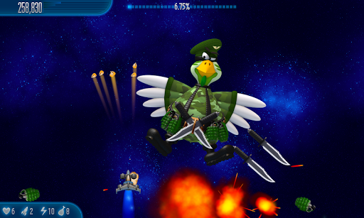 Chicken Invaders 5 HD Tablet